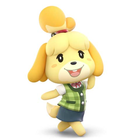 How to counter Isabelle with Rosalina And Luma in Super Smash Bros. Ultimate